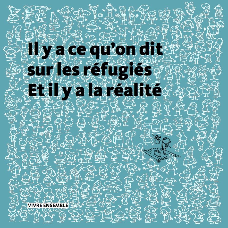 Réfugiés | Halte aux préjugés