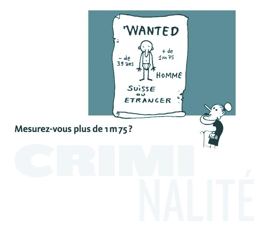 Page criminalité de la brochure sur les préjugés en matière d'asile