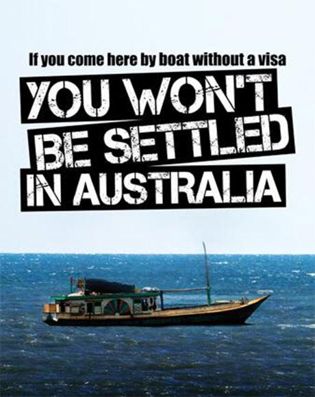 Campagne de communication lancée samedi 20 juillet par le ministère de l'immigration pour expliquer la nouvelle législation migratoire.