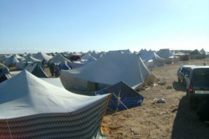The Gdeim Izik protest camp as of late October 2010. (c) Miquel Garcia