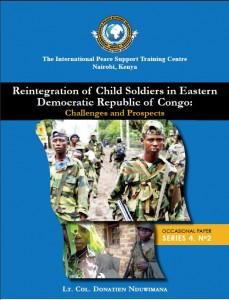 Etude sur la réinsertion des enfants-soldats