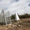 La barrière frontalière que la Bulgarie a construit a sa frontière avec la Turquie. Photo: Alberto Campi.