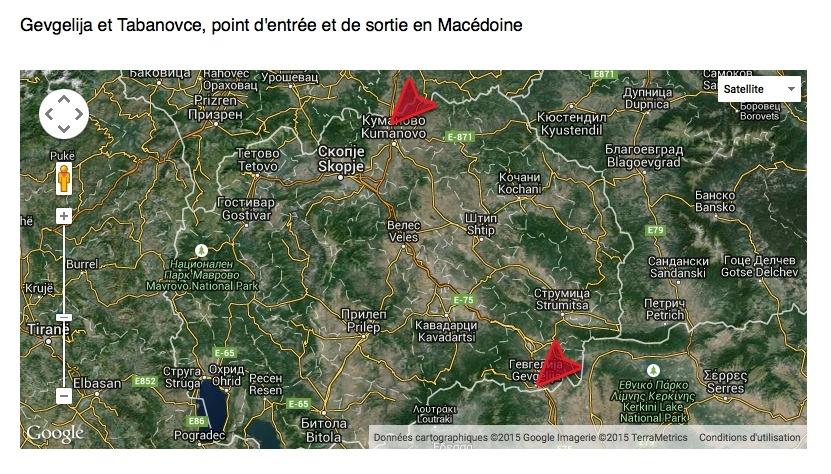 Carte macedoine
