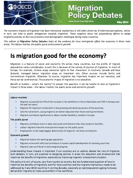 is migration good for the economy
