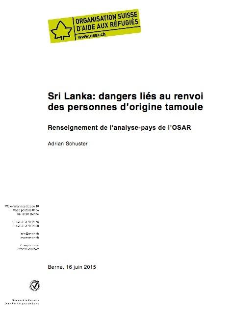 Sri Lanka fiche-pays