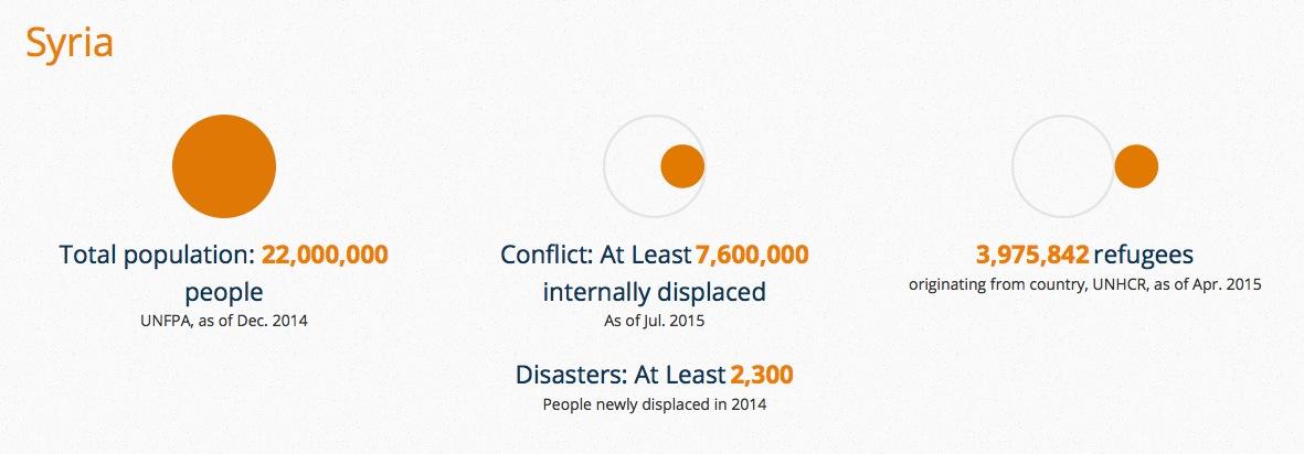 Syrie IDPs