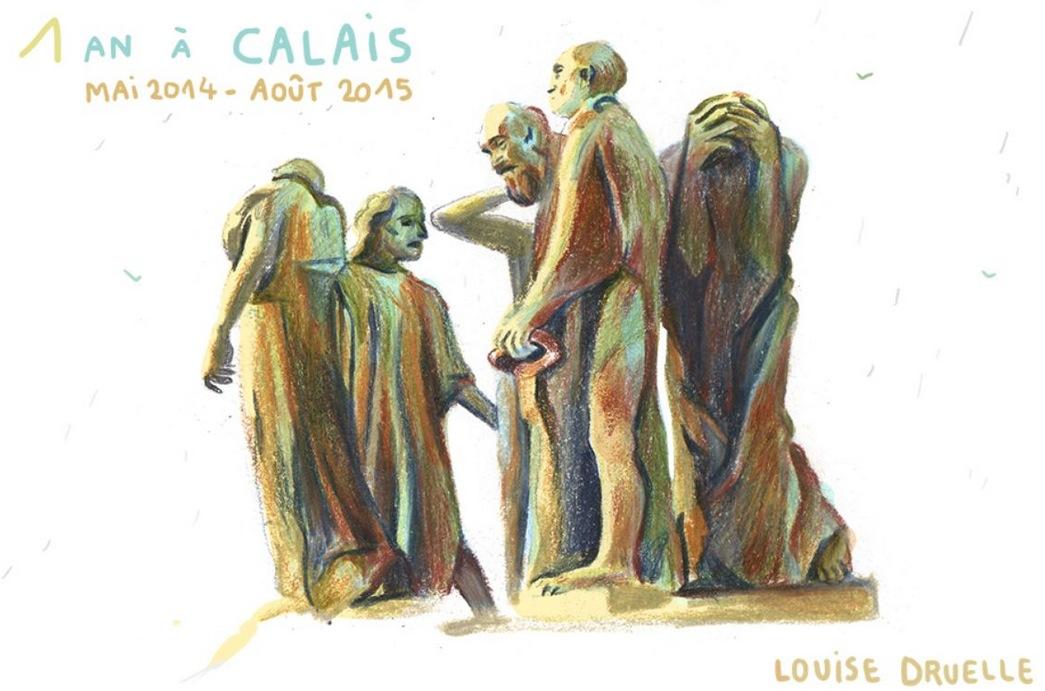 Un an a Calais