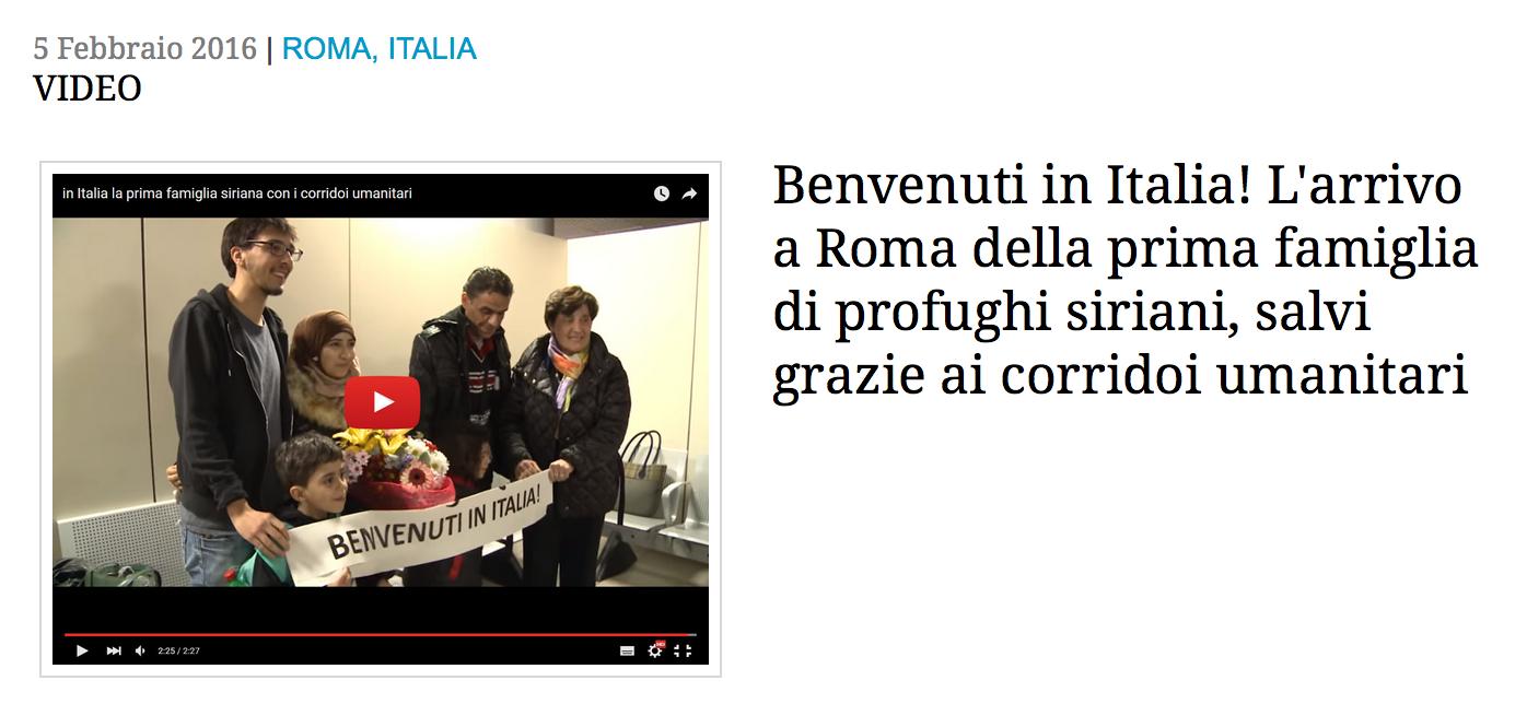 Italie_CorridorHumanitaire