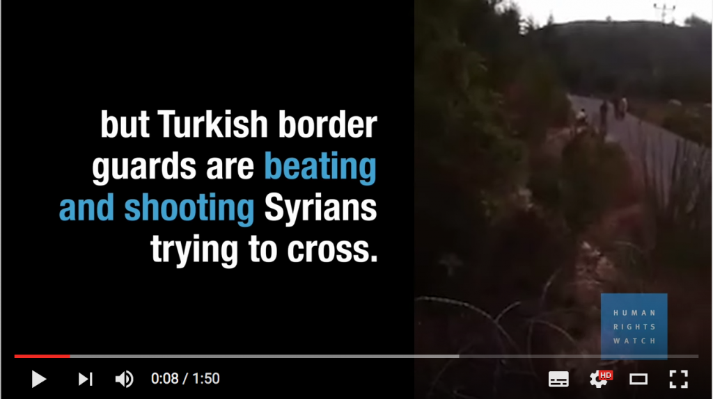 HRW_Turquie refoulement refugies syriens