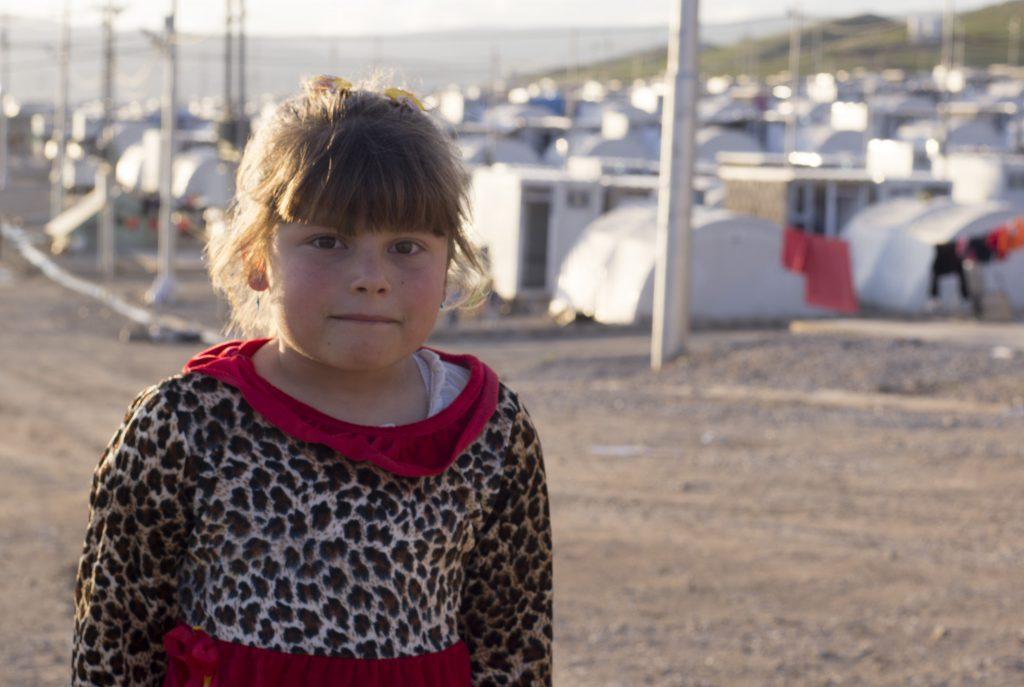 Les enfants du camp de réfugié d'Essian, Irak