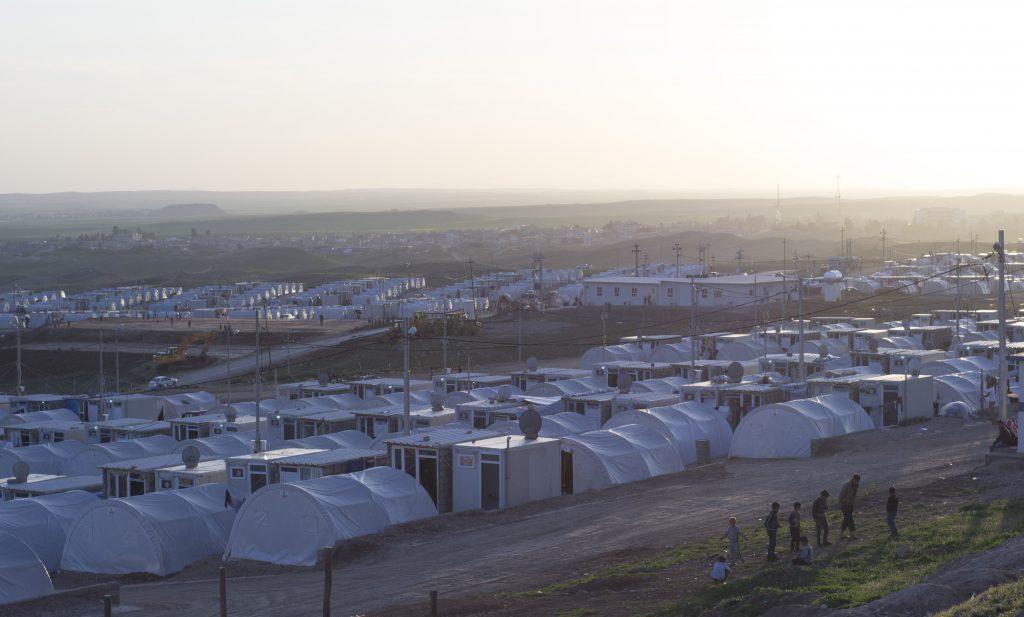 Le camp de réfugié d'Essian (Irak)