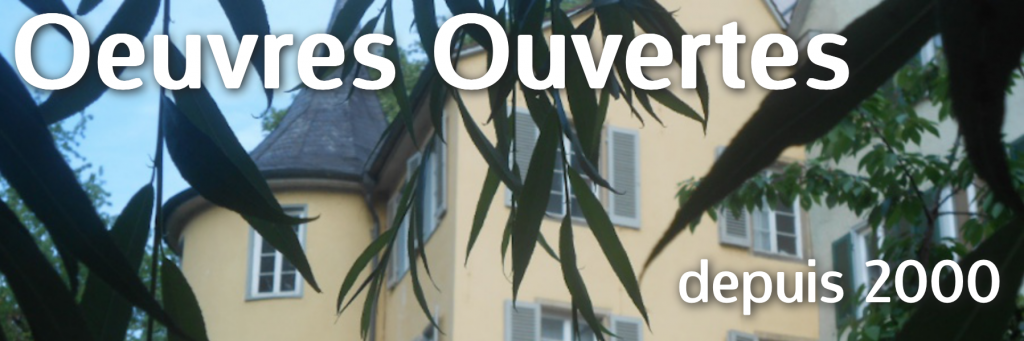 Oeuvres Ouvertes
