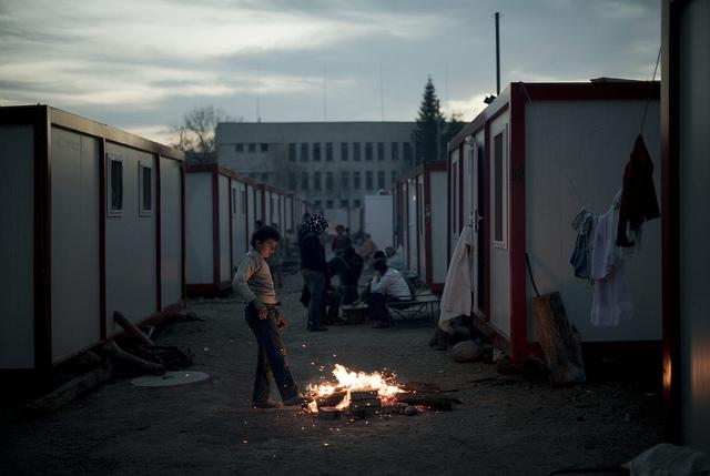 The Children of Harmanli Face a Bleak Winter. Photo: UNHCR / D. Kashavelov / November 2013