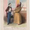 Honoré Daumier, Robert Macaire, médecin, Caricaturana, 1838
