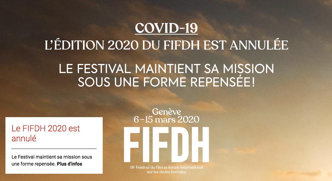 Programme repensé du FIFDH 2.0: les films et événements sur la migration